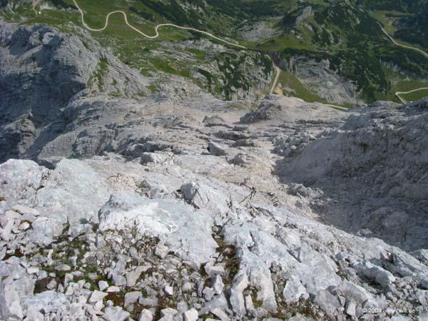Klettersteig Alpspitze : Alpspitze klettersteig alpspitz ferrata