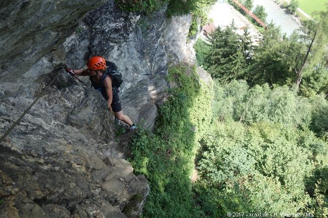 Klettersteig Zillertal : Klettersteig zillertal huter laner tour