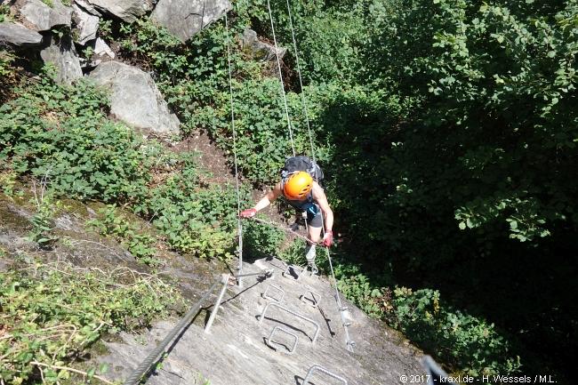 Klettersteig Mayrhofen : Huterlaner klettersteig mayrhofen zillertal