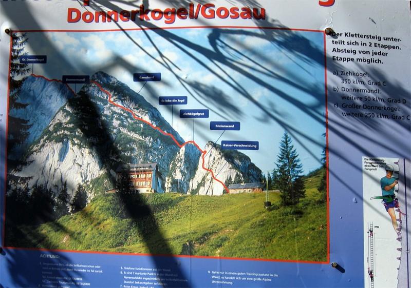 Klettersteig Donnerkogel : Zurück zu den wurzeln teil u großer donnerkogel über intersport
