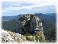 Klettersteig Tegernseer Hütte : Wanderung hinauf zu roß und buchstein tegernseer hütte