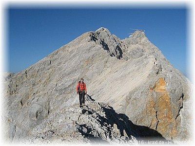 Jubiläumsgrat Klettersteigset : Jubiläumsgrat gratüberschreitung zugspitze alpspitze